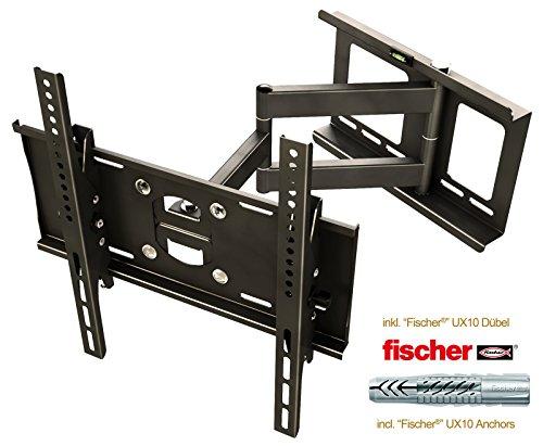 ricoo wandhalterung tv schwenkbar neigbar r23f fischer. Black Bedroom Furniture Sets. Home Design Ideas