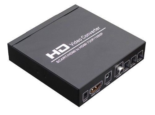 aussel scart hdmi auf hdmi konverter konvertieren 480i. Black Bedroom Furniture Sets. Home Design Ideas