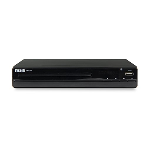 nikkei nd75h dvd player mit scart usb anschluss und hdmi 22 5 cm evileca. Black Bedroom Furniture Sets. Home Design Ideas