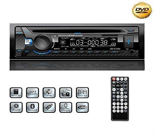 auto stereo cd usb yosaso 1 din fm auto radio stereo. Black Bedroom Furniture Sets. Home Design Ideas