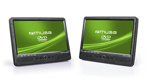 muse m 1095 cvb 2x tragbarer dvd player auto 10 1 zoll. Black Bedroom Furniture Sets. Home Design Ideas