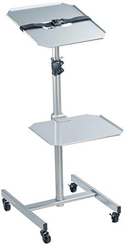 general office projektorwagen variabler profi projektor wagen mit 2 ablage ebenen beamer. Black Bedroom Furniture Sets. Home Design Ideas