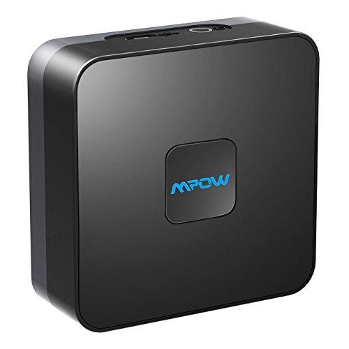 mpow bluetooth 4 1 empf nger audio adapter f r stereoanlage heim hifi auto lautsprecher. Black Bedroom Furniture Sets. Home Design Ideas