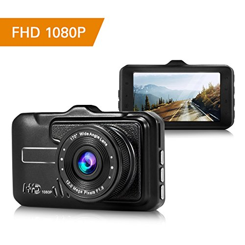 dashcam 1080p autokamera full hd dashboard kamera 3 zoll. Black Bedroom Furniture Sets. Home Design Ideas