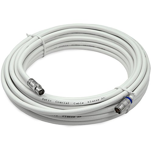 satix skk01003 koaxialkabel f schnell stecker horizon box modemkabel f iec kabel 10m wei. Black Bedroom Furniture Sets. Home Design Ideas