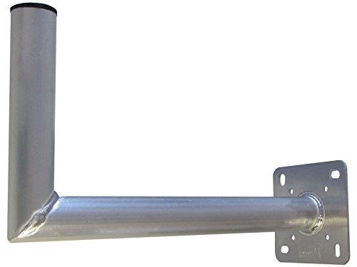 tomtrend wandhalter aluminium 45 cm t v gepr ft 50 mm. Black Bedroom Furniture Sets. Home Design Ideas